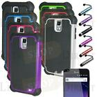 Rugged Armor Hybrid Hard Case Cover For Samsung Galaxy S2 II i727 SkyRocket AT&T