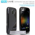 Accessories For The Samsung Galaxy Nexus I9250 S-Line Silicone Gel Case Cover