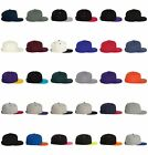 FLEXFIT Original NEW Structured Flatbill Hat Baseball Cap FLAT BILL VISOR 6089M