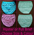 2 x Seamless LADIES BRIEFS Sz 10 12 14 16 18 20 UNDIES SOFT COMFY Underwear NEW