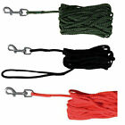 Trixie Dog Training Tracking Lead Long Line Lead 10m 15m Recall Obedience Nylon