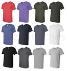 Anvil Mens NEW Size S-3XL V-Neck Fashion Fit UNISEX T-Shirt 100% COTTON Tee 982 image