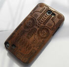 New Genuine Real Natural Bamboo Wooden Case Cover For Samsung Galaxy Note2 N7100