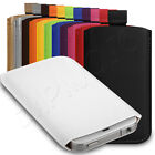Deluxe PU Leather Custom Pouch Case Cover Sleeve Fits LG Optimus L5 E610 Phone