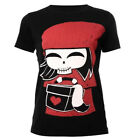 Akumu Ink Red Riding Hood Japanese Style Twisted Fairy Tale Short Sleeved Tshirt