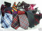 "Mens Quality TARTAN Tie- Necktie 3.5""= 9cm Width-With OR Without Hankie-Squares"