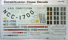 "STAR TREK ENTERPRISE 1/650 SCALE 18"" model Conversion Decals JTG-000"