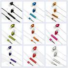 Hi-Quality Remote Mic Metal Earphone HTC iPhone 4 4S 3.5mm Audio Jack Mobile Lot