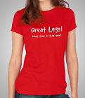 Great Legs, When Do They Open? Ladies Fitted T-Shirt - Skinny Fit Tee (PC084)