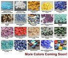 ++ 50 Square 2-hole Tila Glass Beads 5mm Miyuki Choose Color New Arrivals!