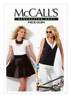 McCall's 6712 Sewing Pattren to MAKE Patchwork Top & Circular Wrap Skirt Block