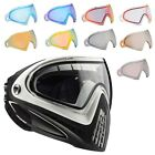Dye i4 Paintball Goggle Mask - White w/ Your Choice of New 2013 Upgraded Lens