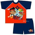 Boys Jake and The Neverland Pirates Short Pyjamas Ages 1-4 Years 100% Pirate