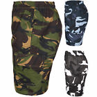 MENS BIG SIZE CAMO CARGO STYLE MILITARY COMBAT CAMOUFLAGE ARMY SHORTS 2XL-5XL