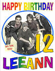 BIG TIME RUSH BIRTHDAY T-SHIRT Personalized Any Name/Age Toddler to Adult