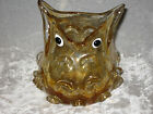 Unique Glass Owl Shape Vase Flowers Bird Collectible NEW!