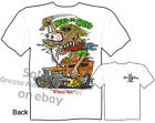 1932 Need For Speed Rat Fink T Shirt Race Hot Rod 32 Ford Tee Sz M L XL 2XL 3XL