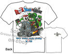 Blood Sweat & Grease Rat Fink T-shirt 30 31 Ford Big Daddy Tee Sz M L XL 2XL 3XL
