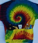 TIE DYE TEAM CYCLING CYCLE TEE JERSEY W/POCKETS CYCLE-T 3 COLORS AVAILABLE ***