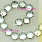 Crystal Clear Iron On Hotfix Rhinestones Glass craft Shine applicator Diam​ante