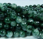 6-10mm Emerald Faceted Loose Beads Gemstone 15""