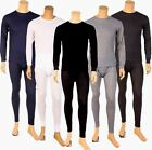 Mens 2pc Thermal Underwear Set Long Johns Waffle Knit Top Bottom S M L XL 2X 3X