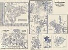 Historic City - LOS ANGELES CALIFORNIA STREET INDEX MAP 1928