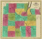 Old County Maps - STEUBEN COUNTY NEW YORK (NY) LANDOWNER MAP 1829