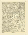 Historical Topographic Maps - RED BLUFF SHEET CALIFORNIA (CA) USGS 1894