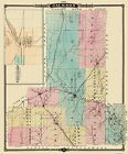 Old County Maps - JACKSON COUNTY WISCONSIN (WI) MAP BY SNYDER/V. VECHTEN 1877