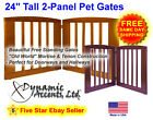 "Dynamic Accents 2 Panel 24"" Tall Pet Gate"