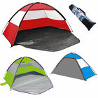 BEACH TENT FESTIVAL SHELTER CHILDRENS UPF40 SUN SCREEN WIND BREAK FISHING GARDEN