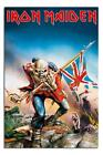 Iron Maiden Trooper Large Maxi Wall Poster  New - Laminated Available