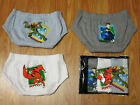 Ben 10 Alien Force 3 pcs Cotton Underwear #1153 age 4-14
