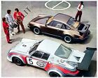 1976 Porsche Turbo Carrera 930 & 934 Race Car Automobile Photo Poster zc324-SVT2