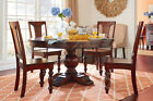 Traditional Round Pedestal Mango Wood Dining Table Many Sizes