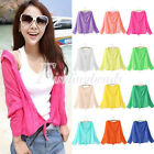 Sun Protection Long Anti-UV Blouse Casual Sunscreen SleeveTop Cardigan