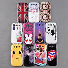 Smart Cute Pattern Back Case Cover Protector for Samsung Galaxy S3 i9300 PC NEW