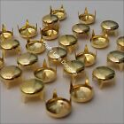 100 x Round Spike Claw Studs Rivets Leatherwork Shoes Bags Punk Rock Gothic Styl