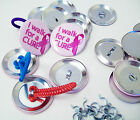 "Button Boy 1-3/4"" Complete Pony Tail & Shoe Lace Button Parts 1.75"" Ponytail"