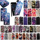 FOR APPLE IPHONE 5 5G 5S STYLISH PRINTED LEATHER MAGNETIC FLIP CASE COVER+STYLUS