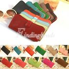 Leather Card Women's Clutch Purse Wallet Holder FeaxLot Bag 11 Color