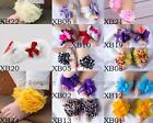 Cute Baby Infant Girls Barefoot Flower Sock Sandals Shoes Toe Blooms