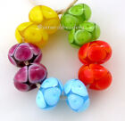 Your Choice BRIGHT NEON BUBBLE Pairs *  lampwork glass bead set TANERES sra