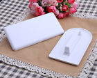 2 Shapes Cake Decorating Sugarcraft Smoother Tool Decorating Cutter Icing Molds