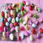 50 pcs100pcs small tea buds flower flower heads silk wholesale wedding