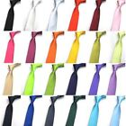 23 Colors New 5cm Wide Polyester Solid Color Gentleman Men's Discount Neck Tie