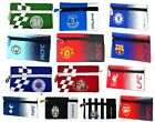 OFFICAL FOOTBALL CLUB - FLAT NEO PENCIL CASE STATIONERY SCHOOL PEN KIDS GIFT NEW