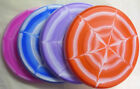 Blue, Pink, Red, or Purple Spider Web Flying Disc (Frisbee) -Also Great for Dogs