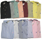 Polo Ralph Lauren Mens Custom Fit Long Sleeve Button Down Pony Logo Dress Shirt